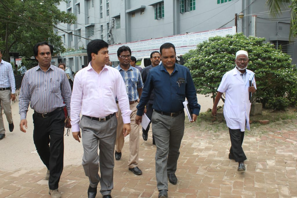 Inspection Team of Rajshahi University