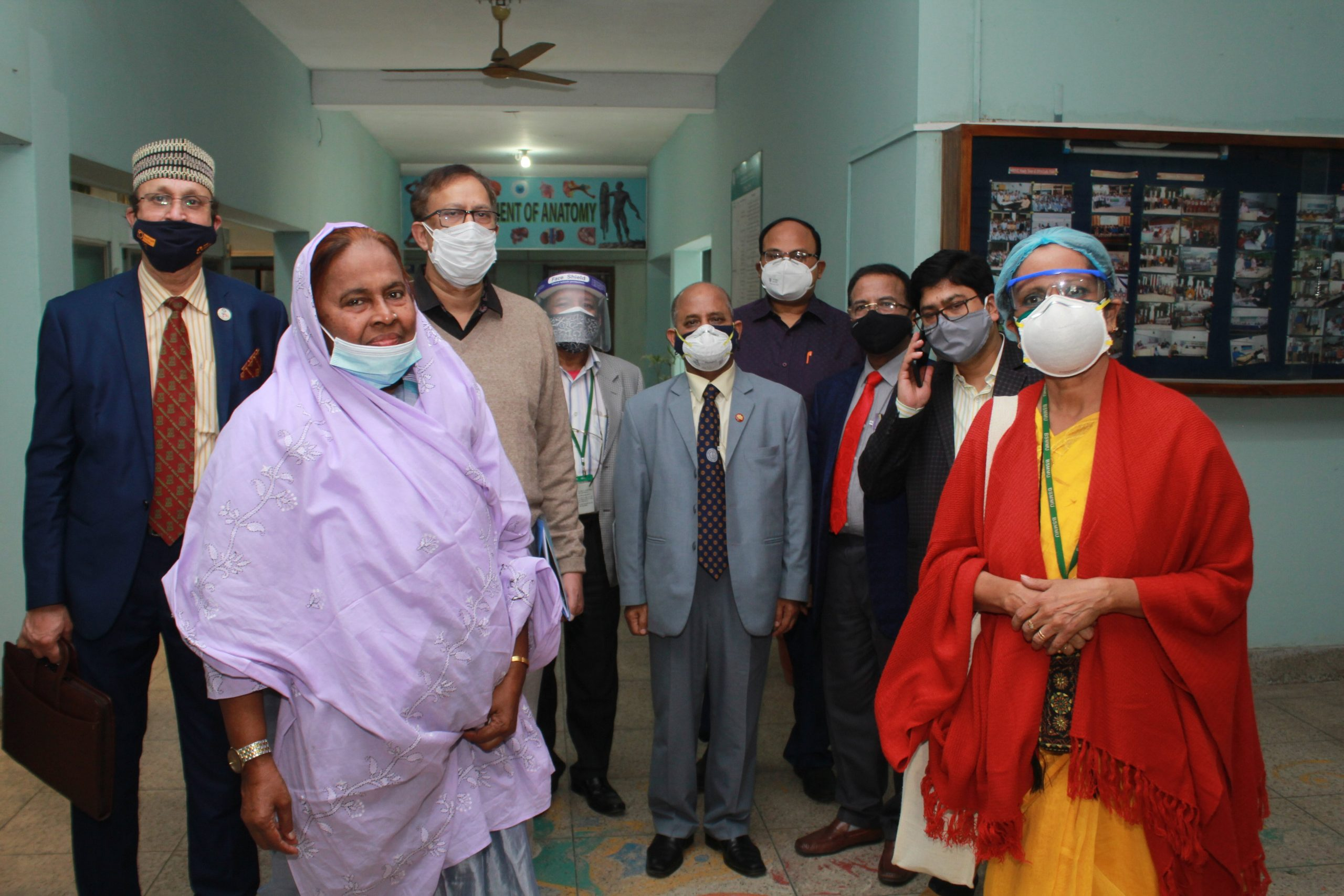 Inspection for Post Graduation Course Affiliation for Bangabandhu Sheikh Mujib Medical University (BSMMU)